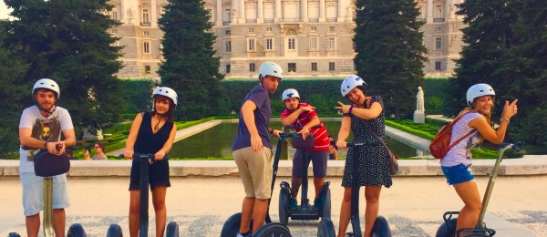 Segway Tour Madrid. EnSegway